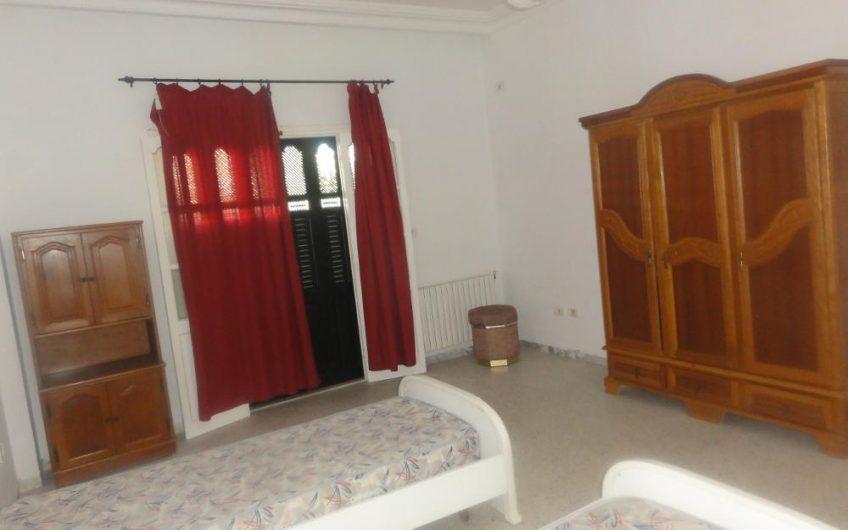 Un Appartement Meublé au RDC à la Zone Touristique de Hammam Sousse
