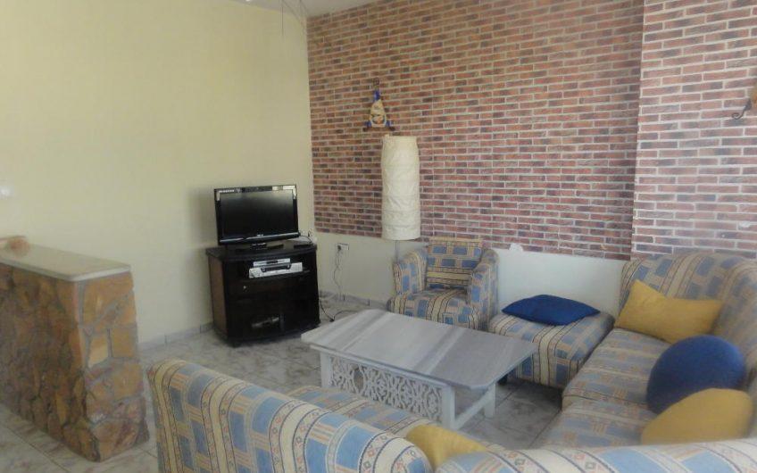 Etage d'une Villa Meublé à Hammam Sousse